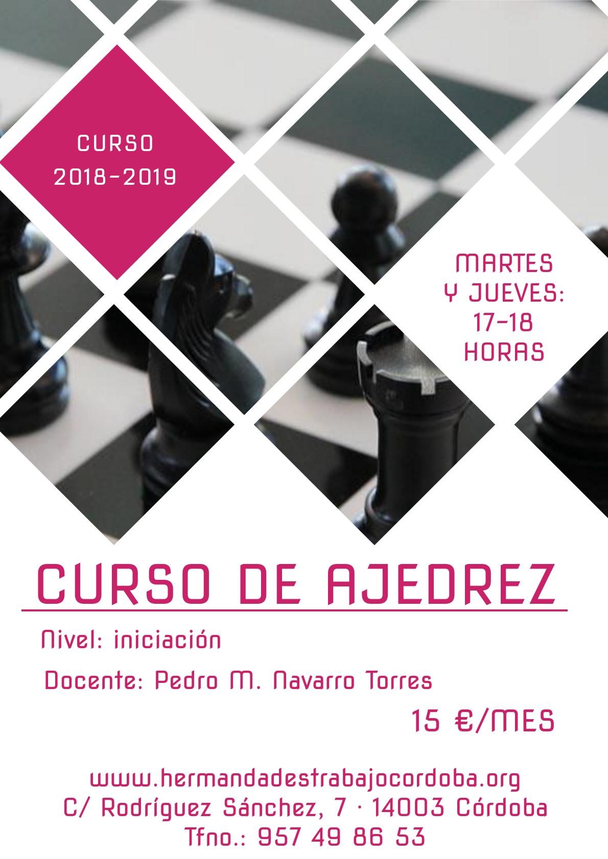 Curso de ajedrez